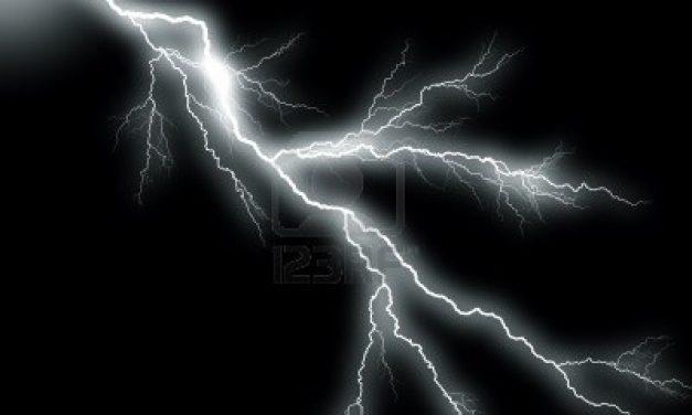 L'orage vu par mon fils
