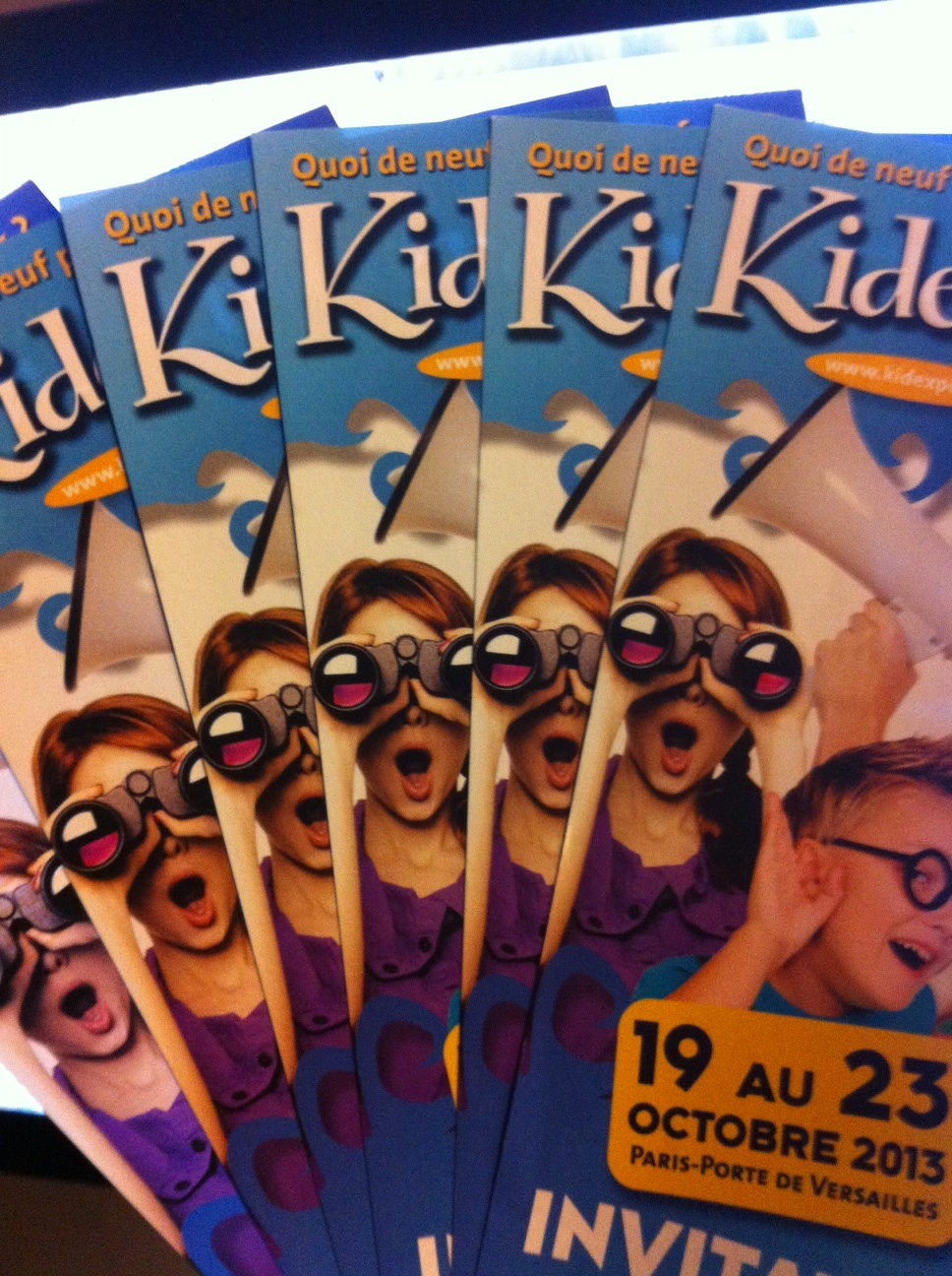 Gagnez des entrées gratuites pour Kidexpo 2013