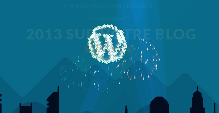 Blogging, chiffres & bonne année !