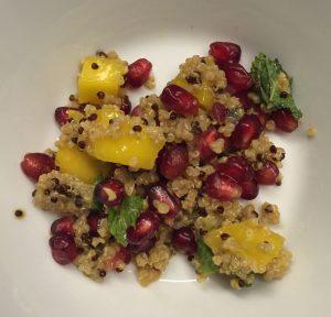 Recette Quinoa-mangue