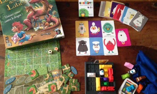 3 jeux pour les tenir éloigner des écrans – A partir de 4 ans