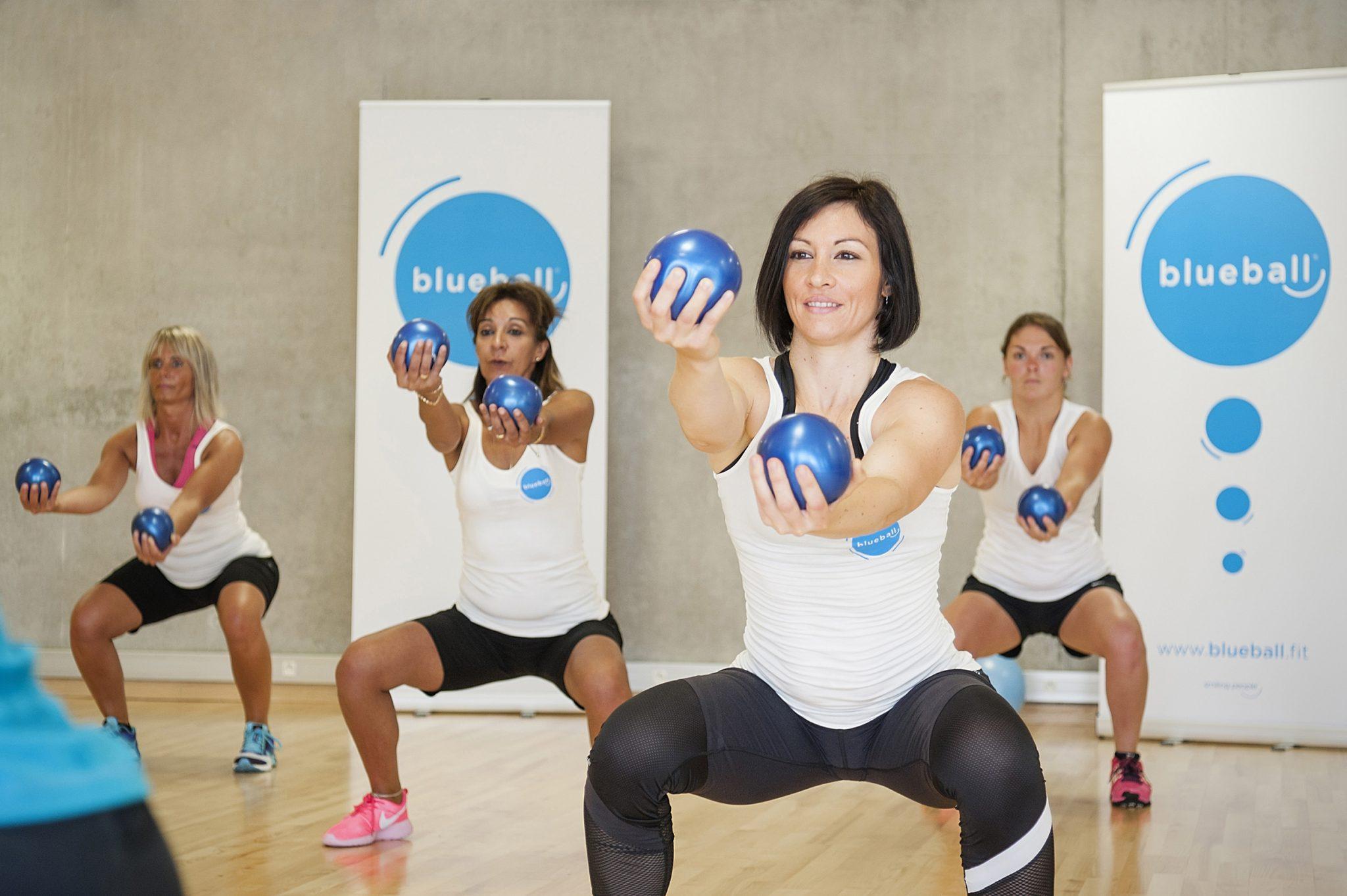 nouvelle activit de positive fitness blueball bienheureusement bien tre sant. Black Bedroom Furniture Sets. Home Design Ideas