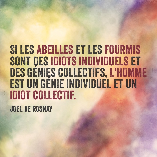 citation joel de rosnay