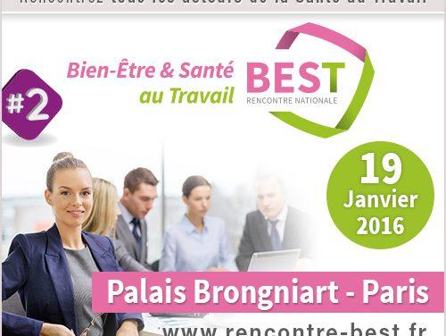 19 janvier 2015 – Rendez-vous Bien-être et Santé au travail