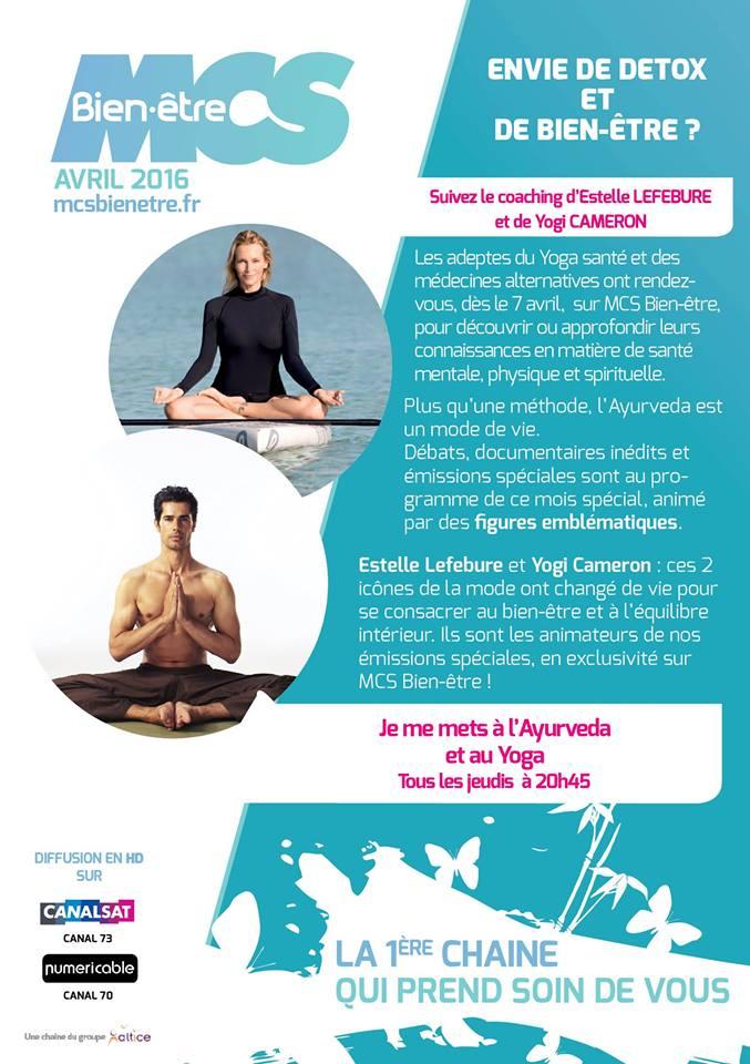 programme bien-être et yoga
