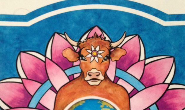 Marguerite, la vache pleine de conscience : Et si on décidait d'être heureux ?