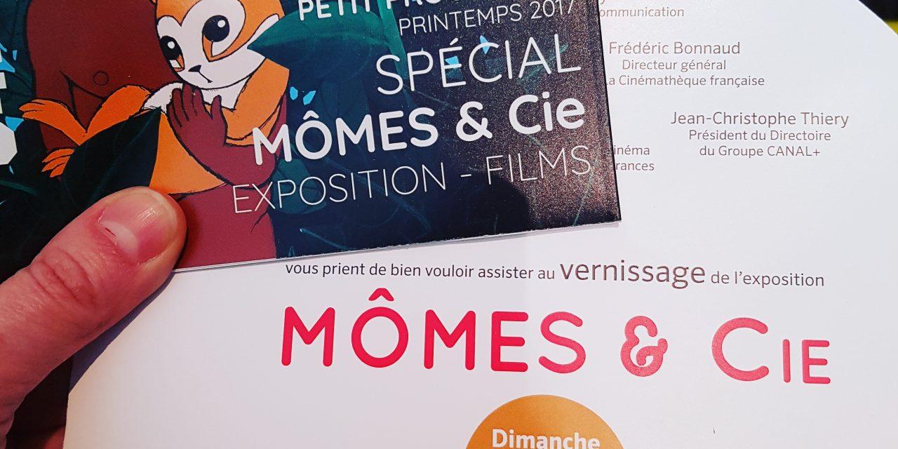 Exposition «Mômes & Cie» – Les émotions de l'Enfance au cinéma